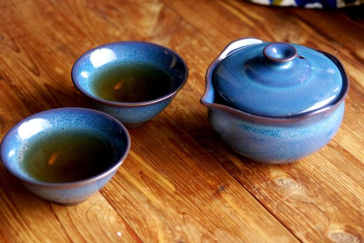 Eilong Jade Blue Tea Set from Blue Lantern Tea